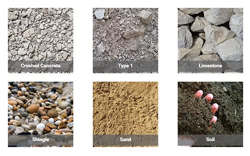aggregate suppliers in West Meon