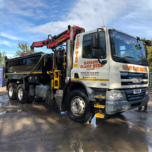 Mercedes Tipper Lorry Hire