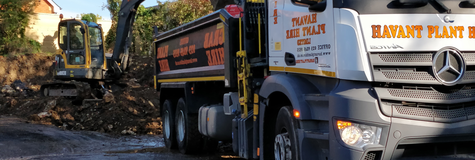 Fareham Muck Away hire