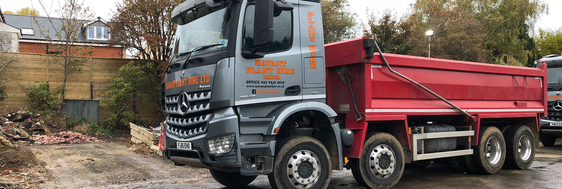 tipper hire in Port Solent