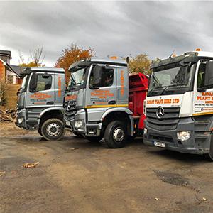 Mercedes Tipper Lorry Hire