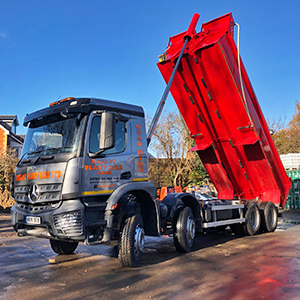 Tipper Waste Transport Hire